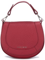 Orciani Saddle Tote Bag Red