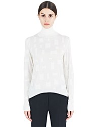 Agnona Layered Detail Sweater Neutrals