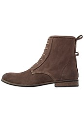 Shoe The Bear Walker Laceup Boots Taupe