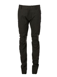 Rear Knee Patch Trousers Green