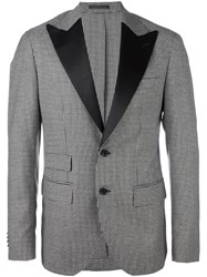 Hydrogen Shawl Collar Blazer Black