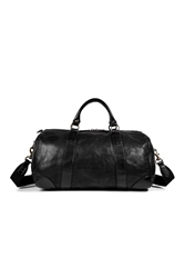 Polo Ralph Lauren Leather Overnight Duffle Bag