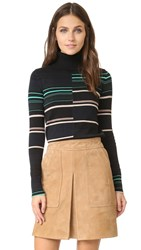 Apiece Apart Piedras Turtleneck Sweater Rancho Stripe