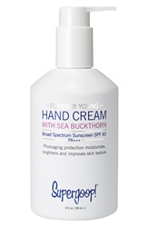 Supergoop 'Forever Young' Hand Cream With Sea Buckthorn Broad Spectrum Spf 40
