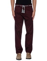 Basicon Trousers Casual Trousers Men Maroon