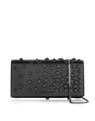 Dsquared Black Studded Leather Clutch