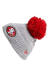 Men's New Era Cap 'Cuff Star San Francisco 49Ers' Pompom Knit Beanie