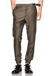 Jil Sander Giovanni Trousers In Green
