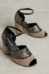 Anthropologie Jeffrey Campbell Bibiana Pumps Taupe