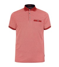 Ted Baker Soft Touch Polo Shirt Male Red