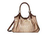 Brahmin Elisa Barley Handbags Brown