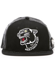 Philipp Plein 'Hey Bro' Baseball Cap Black