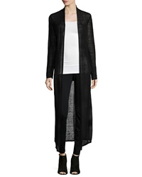 Eileen Fisher Washable Sheer Hemp Extra Long Cardigan Women's
