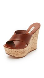 Casadei Leather Wedges Brown