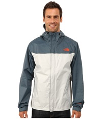 The North Face Venture Jacket High Rise Grey Conquer Blue Men's Jacket White
