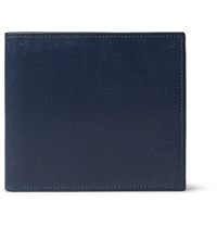 Dunhill Anderson Leather Billfold Wallet Navy