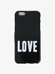 Givenchy Love Print Iphone 6 Case Black White