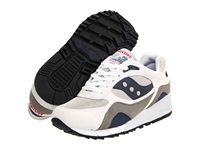 Saucony Shadow 6000 White Grey Navy Berry Men's Shoes