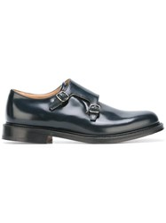 Church's 'Lambourn' Monk Shoes Black