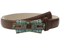 Leather Rock 4542 Cognac Women's Belts Tan