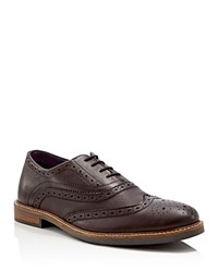 Ben Sherman Brent Wingtip Oxfords Compare At 135 Dark Brown