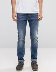 Lee Rider Stretch Slim Jeans Blue Surrender Blue Surrender