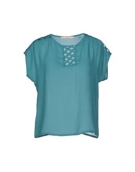 Bgn Blouses Bright Blue