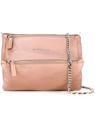 Givenchy Mini 'Pandora' Crossbody Bag Pink Purple