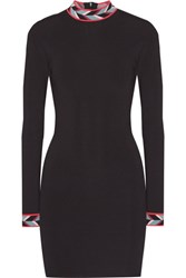 Emilio Pucci Stretch Ponte Mini Dress Black
