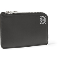 Loewe Black Leather Coin And Cardholder