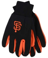 Forever Collectibles San Francisco Giants Palm Gloves Black