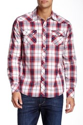 Micros Catastrophee Plaid Shirt Red
