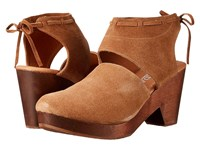 Cordani Farrow Camel Suede High Heels Tan