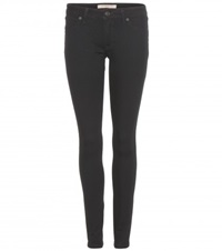 Burberry Low Rise Skinny Jeans Black
