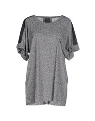Lot 78 Topwear T Shirts Women Grey