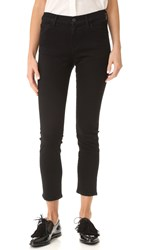 Gold Sign Isabelle Slim Fit Ankle Jeans Onyx Black