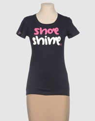 Shoeshine Short Sleeve T Shirts Pink