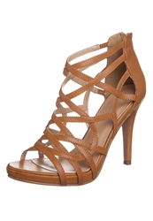 Anna Field High Heeled Sandals Cognac