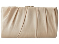 Nina Larry Champagne Clutch Handbags Gold