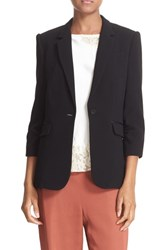 Elizabeth And James Women's Fitted Blazer