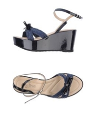 Aldo Brue Sandals Dark Blue