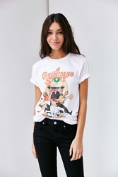 Urban Outfitters A Christmas Story Tee White