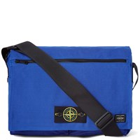 Porter Yoshida And Co. X Stone Island Shoulder Bag Blue