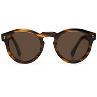 Illesteva Leonard Dark Sand Sunglasses Brown