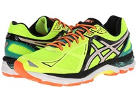 Asics Gt 2000 3 Flash Yellow Silver Emerald Green Men's Running Shoes