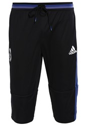 Adidas Performance Real Madrid 3 4 Sports Trousers Black Suppur