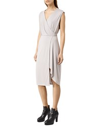 Allsaints Amalia Dress Storm Grey