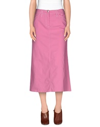 Caractere Aria 3 4 Length Skirts Pink