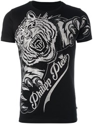 Philipp Plein 'Claws' T Shirt Black