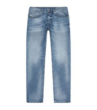 Diesel Buster Faded Slim Tapered Jeans Male Blue